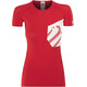 Compressport Casual Postural T-Shirt Athlete - Camiseta Running Mujer - rojo